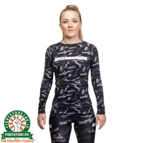 Tatami Ladies Rival Black & Camo Long Sleeve Rash Guard