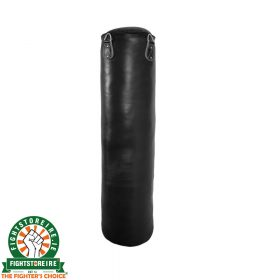 FSi Classic Leather 4ft Punch Bag - Black