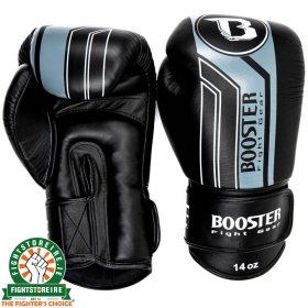 Booster V9 Thai Boxing Gloves - Black/Grey