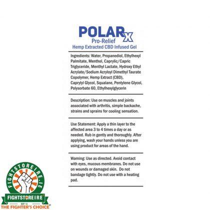 PolarX 150mg CBD Infused Analgesic Gel - 85ml