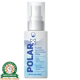 PolarX 150mg CBD Infused Spray - 118ml