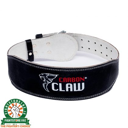 Carbon Claw Weightlifting Belt - Leather Padded 4""