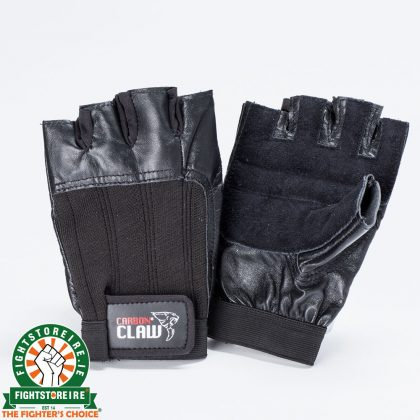 Carbon Claw Weightlifting Gloves - Black