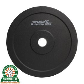 HRD Olympic Rubber Plates - Black