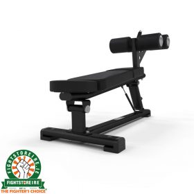 Jordan Adjustable Decline Bench - Black