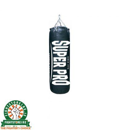 Super Pro Classic Punching Bag Vertical Logo - Black