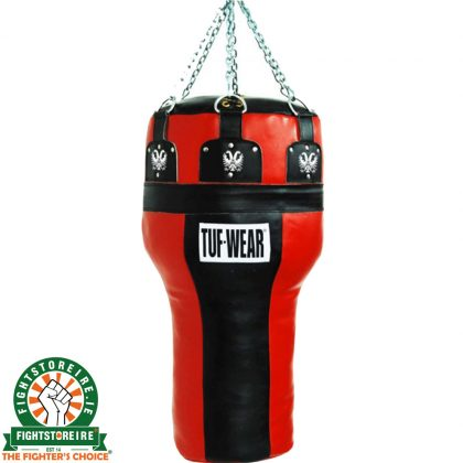 TUF Wear Leather Angle Bag - Black/Red