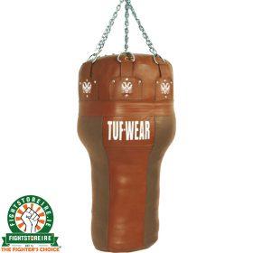 TUF Wear Leather Angle Bag - Brown