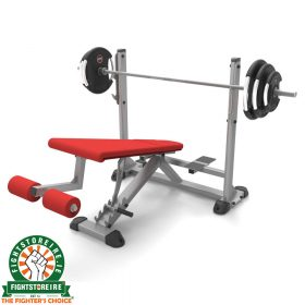 Adjustable Olympic Decline Bench