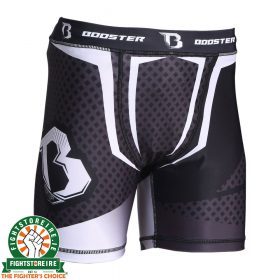 Booster B Force Compression Shorts - Black/White