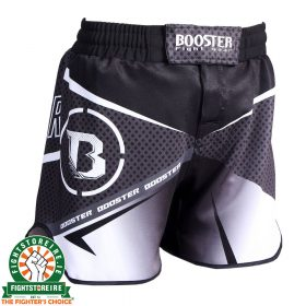 Booster B Force MMA Shorts - Black/White