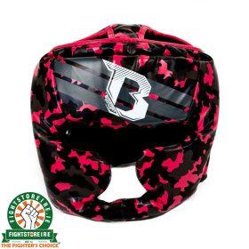 Booster Kids Camo Pink Headguard