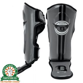 Booster Kids Elite 1 Shinguards - Grey