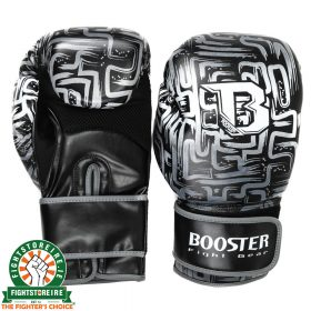 Booster Labyrint Thai Boxing Gloves - Black