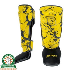 Booster Marble Yellow Kids Shinguards