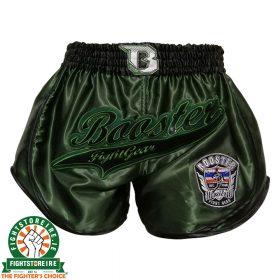 Booster Retro Slugger 2 Muay Thai Shorts - Green