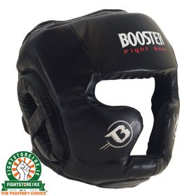 Booster Sparring Headguard - Black