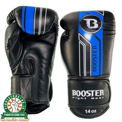 Booster V9 Thai Boxing Gloves - Black/Blue