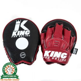 King Pro Focus Mitts Wine Red