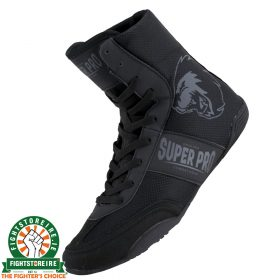 Super Pro Speed78 Boxing Boots in Black