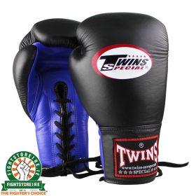 Twins BGLL 1 Thai Boxing Gloves - Black/Blue