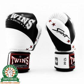 Twins BGVL 10 Thai Boxing Gloves - Black/White