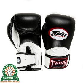 Twins BGVL 11 Thai Boxing Gloves - Black/White