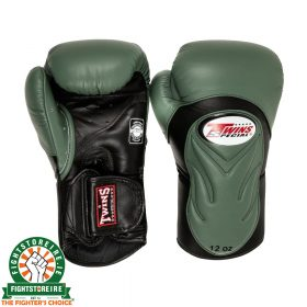 Twins BGVL 6 Thai Boxing Gloves - Olive