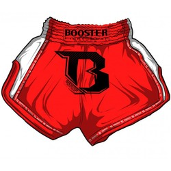 Booster PRO Muay Thai Shorts - Labyrinth Red photo review