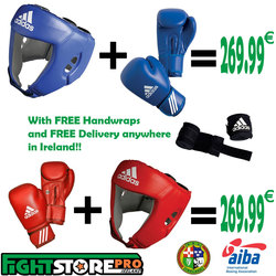 Adidas AIBA Bundle - FREE Wraps and FREE Delivery photo review
