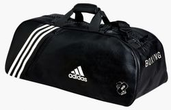 Adidas GB Team Bag Holdall - Red/Blue photo review