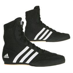 Adidas Box Hog 2 Boxing Boots - Black/White photo review