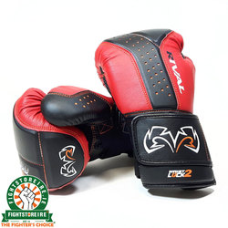 Rival RB10 Intelli-Shock Bag Gloves - Black/Red photo review