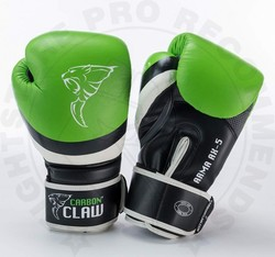 Carbon Claw Arma Sparring Gloves Green/Black photo review