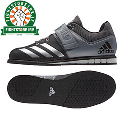 Adidas Powerlift 4 Weightlifting Shoes - Black/Gold photo review