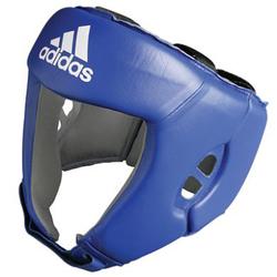 Adidas AIBA Licensed Head Guard - Blue photo review