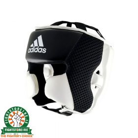 Adidas Hybrid 150 Head Guard - Black/White