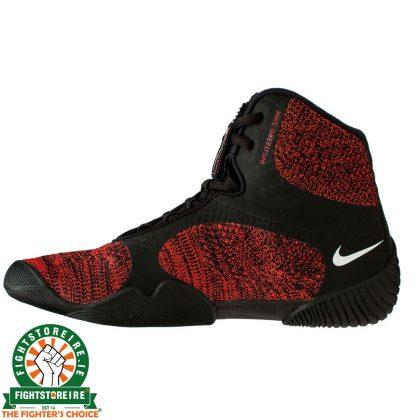Nike Tawa Wrestling Shoes - Black/Red Orbit