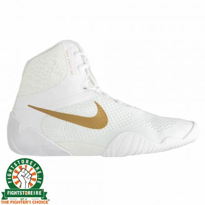 Nike Tawa Wrestling Shoes - White/Gold