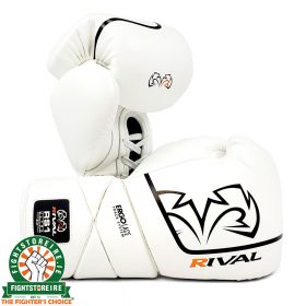 Rival RS1 Pro Sparring Gloves - White 2.0
