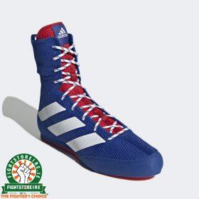 Adidas Box Hog 3 Boxing Boots - Blue