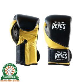 Cleto Reyes High Precision Training Gloves - Black & Gold