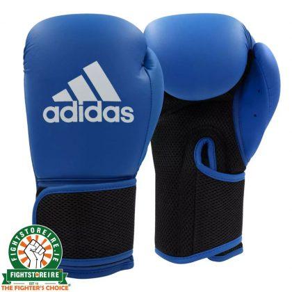 Adidas Hybrid 25 Boxing Gloves - Blue