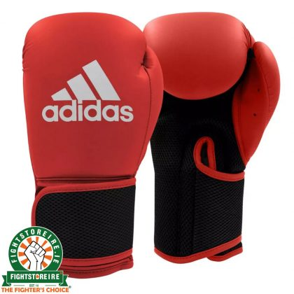 Adidas Hybrid 25 Boxing Gloves - Red