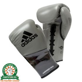 Adidas adiSpeed Limited Edition Lace Boxing Gloves - Grey
