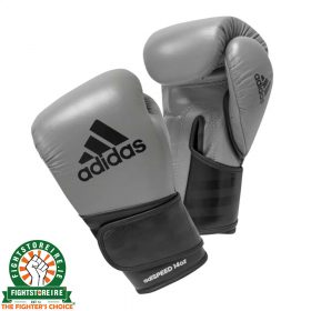 Adidas adiSpeed Limited Edition Velcro Boxing Gloves - Grey
