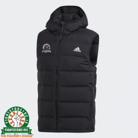 Adidas x Fightstore Helonic Hooded Down Vest - Black